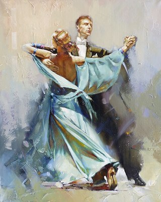 танец в живописи: