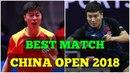 MA Long vs LIANG Jingkun MS QF China Open 2018