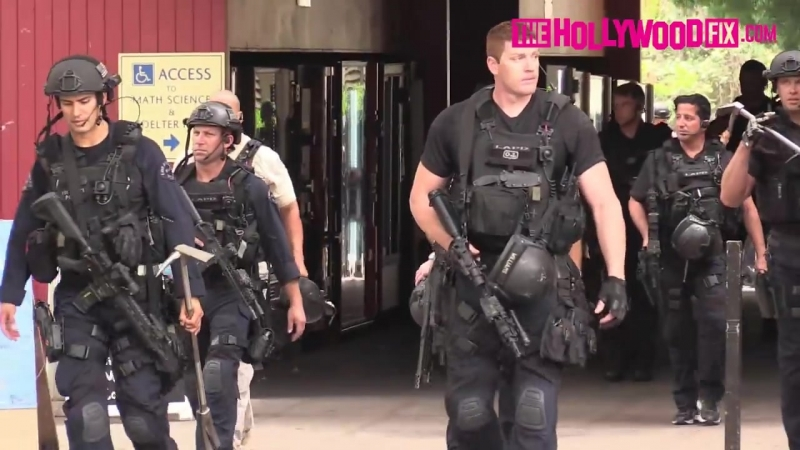 UCLA Campus Swarmed By Police To Hunt Down School Shooter Who Killed William Klug.