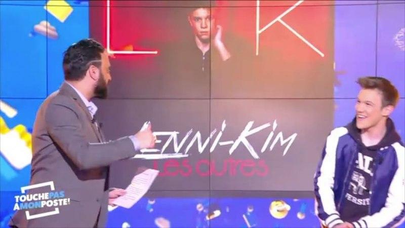 """Lenni-kim on Instagram """"Jétais chez @tpmptv ce soir pour parler de mon ALBUM et de mes CONCERTS en France et Belgique 🎤 Merci à @cyrilhanouna 🙌🏻"""""""