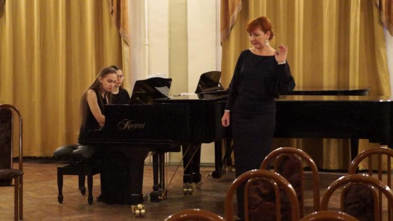 Международный конкурс С.Орлова (20.03.18) Партия рояля Татьяна Жиганова (вокал - Ю.Маркова)
