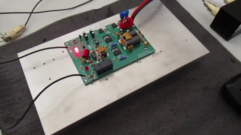 SkyWave DX150 RevA Class-AB Amplifier (FQP13N10 x 2)