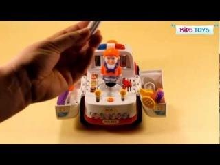 Скорая помощь игрушка 0836
