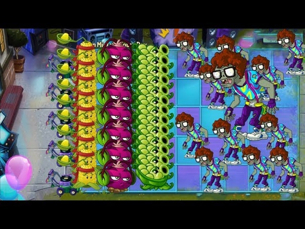 Plants vs Zombies 2 - Sling Pea, Phat Beet and Kernel Pult