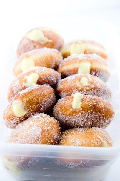 """""""Вкусные пончики с лимонным кремом"""""""