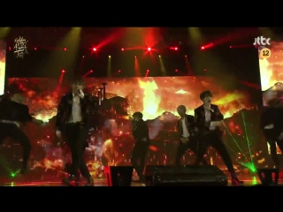 [PERF] 170114 BTS - No More Dream + Boy in Luv + War of Hormones + Dope + I NEED U + BS&T + FIRE @ Golden Disk Awards