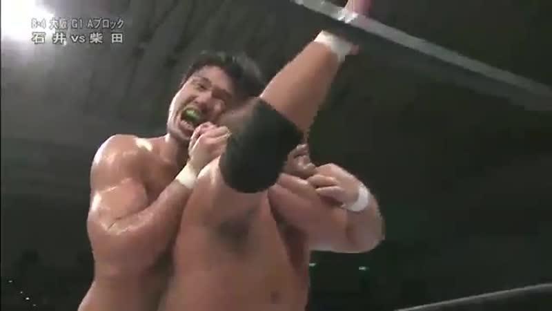 Katsuyori Shibata vs Tomohiro Ishii
