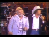 Kenny Rogers Mac Davis - Hard To Be Humble LIVE