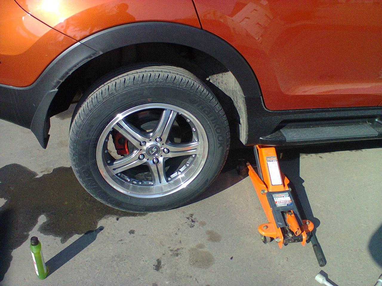 Как установить автобаферы своими руками