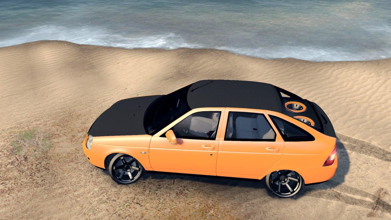 Lada Priora Hatchback Oni-kyan для Spintires - Скриншот 2