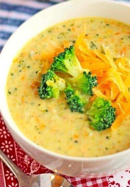Сырный суп (с шампиньонами и брокколи) Ингредиенты: Шампиньоны —