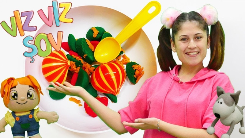 Lili ile çocuk şarkıları. Okul öncesi sebzeleri öğreniyoruz Vız Vız şovda