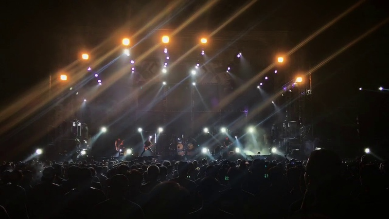 IN FLAMES Live At Hammersonic 2018