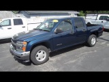 2004 CHEVROLET COLORADO PICKUP TRUCK START UP, WALK AROUND and review