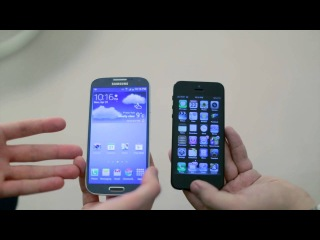 Эксперты iMore сравнили iPhone 5 с Samsung Galaxy S4