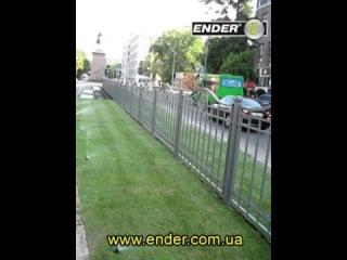Выдвижные статические дождеватели ENDER, пр. Ленина (г. Харьков)