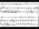 Louis Vierne Sonata for violin and piano op 23 1906 II Andante