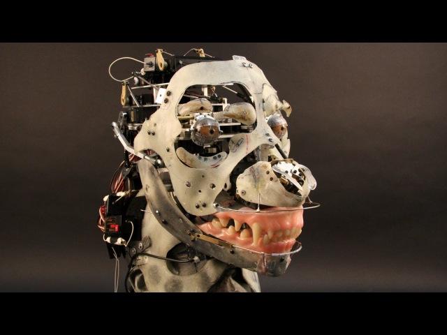Percy Jackson Sea of Monsters Agrius Animatronic Test