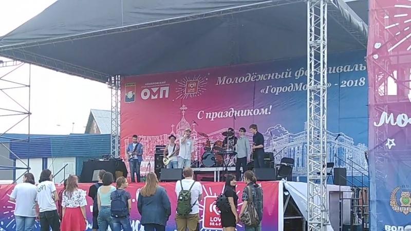 Tespian 3 Рок фестиваль Над Землёй 2018 Стадион Химик 30 06 2018