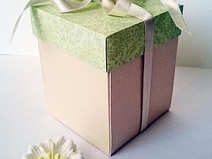 Подарочная коробочка своими руками (9 фото) - картинка