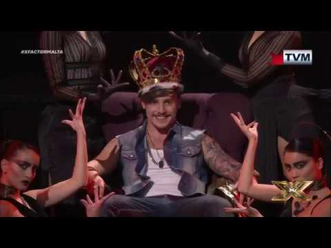 Owen Leuellen takes us to Gangsta's Paradise | X Factor Malta | Live Show 3