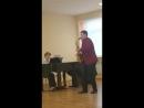 И С Бах речитатив из органного концерта 3 переложение М К Шапошниковой
