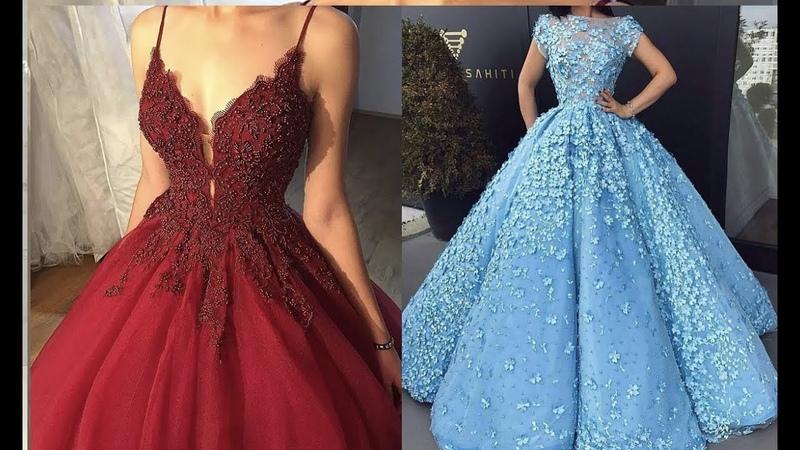 Los vestidos de novia de colores mas bonito del mundo 2018