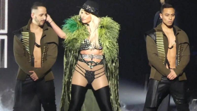 """Work Bitch, Womanizer, Break the Ice"" Britney Spears@MGM Oxon Hill, MD 7⁄13⁄18"
