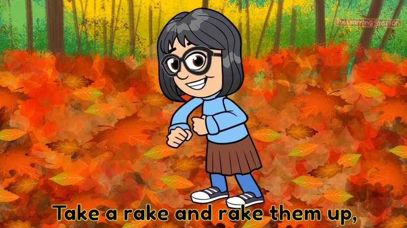 ♫ Seasons Song for Kids. Fall Kids Song. Autumn Leaves are Falling Down (The Learning Station)