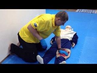 Тренинг 2.06.13 по оказанию скорой мед. помощи при нож/ранениях
