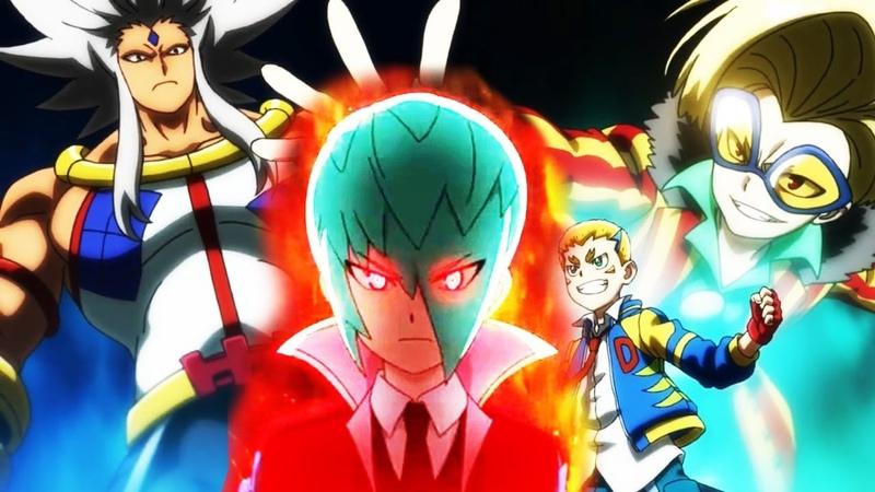 Beyblade Burst GT Ep 11 Delta Akane Drum Koryu Joe Rurikawa Lodin - Бейблейд 4 сезон 11 серия