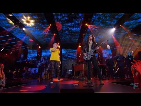 Cade Foehner Bishop Briggs Never Tear Us Apart American Idol 2018 Top 24 Duets