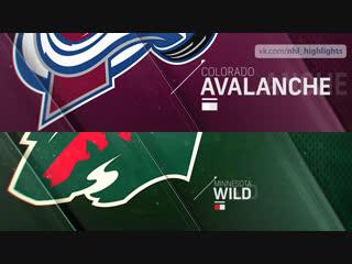 Colorado Avalanche vs Minnesota Wild Oct 27, 2018 HIGHLIGHTS HD