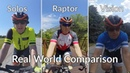 Cycling HUD comparison Solos Wearables Everysight Raptor Varia Vision Recon Jet review