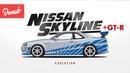 Evolution of the Nissan Skyline GT-R Donut Media