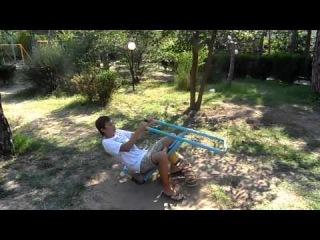 Смертоносная детская качалка от Казановы НФР (Евпатория Украина Лето 2013)