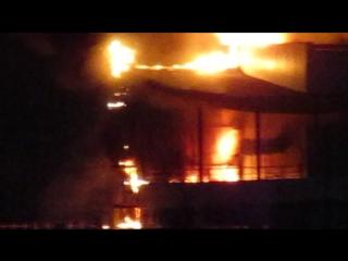 Пожар в центре Перми! ТЦ Алмаз опять горит!