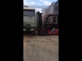 Как разгружают зерно в Новороссийске