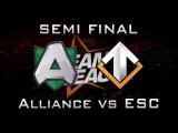 Alliance vs Escape Semi Final DreamLeague 2016 Highlights Dota 2