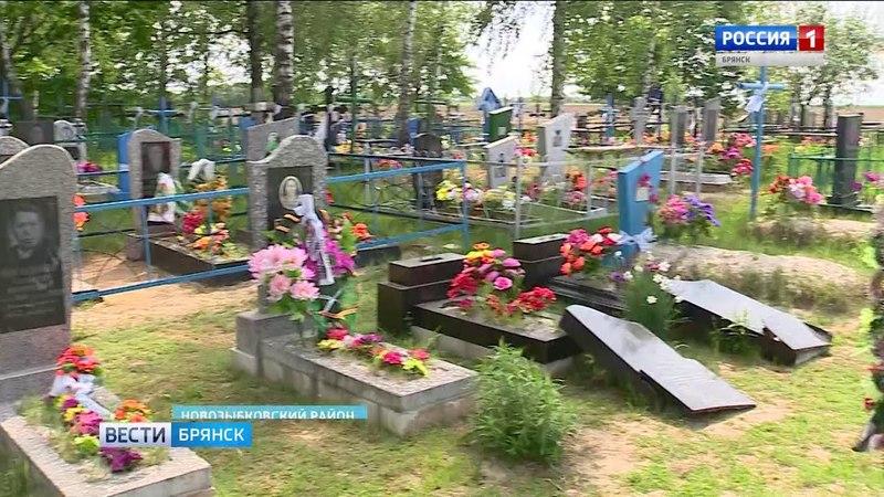 Погром на новозыбковском кладбище