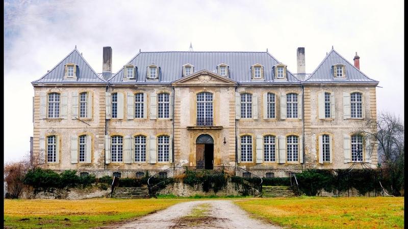 Разврат или искусство? А что если купить себе дворец? Реставрация старинного дворца Шато де Гуден.