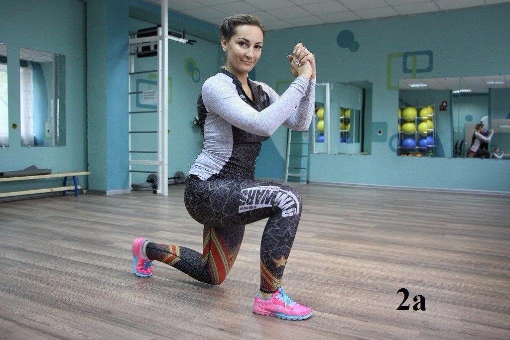 Пять упражнений против целлюлита (в картинках)