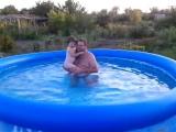 Мое первое купание в бассейне