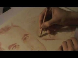 Darren Criss and Chris Colfer (Klaine) - Speed drawing