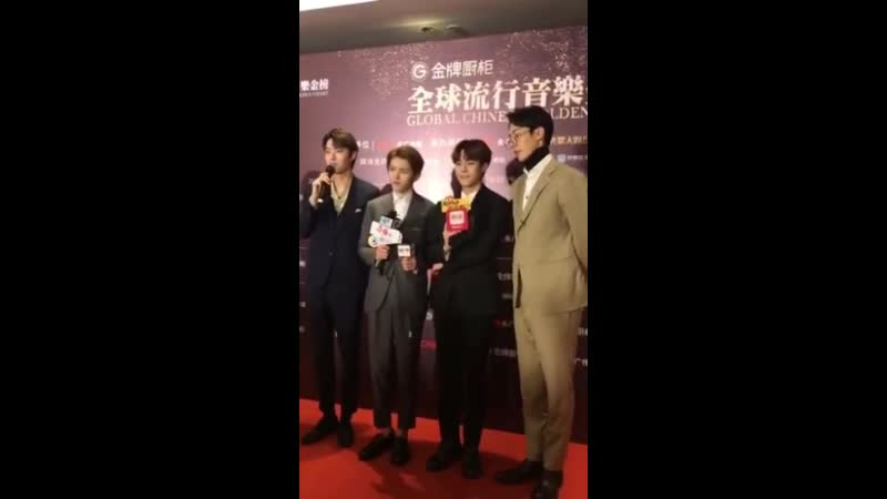[190218] GOLDEN HOME's Global Chinese Golden Chart Awards