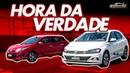 Volkswagen Polo TSI x Toyota Yaris! Qual é o melhor na pista? - Especial 220   Acelerados