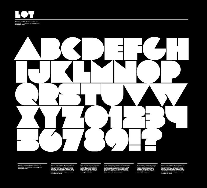 Download lot font (typeface)