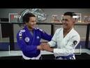Видео урок по BJJ 1 (Проход в ноги и удушающий)