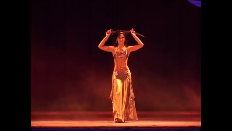 Amira Abdi BELLY DANCE with sword DRUM SOLO