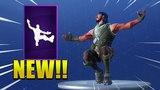 *NEW* SQUAT KICK EMOTE/DANCE IN FORTNITE ! Fortnite Battle Royale